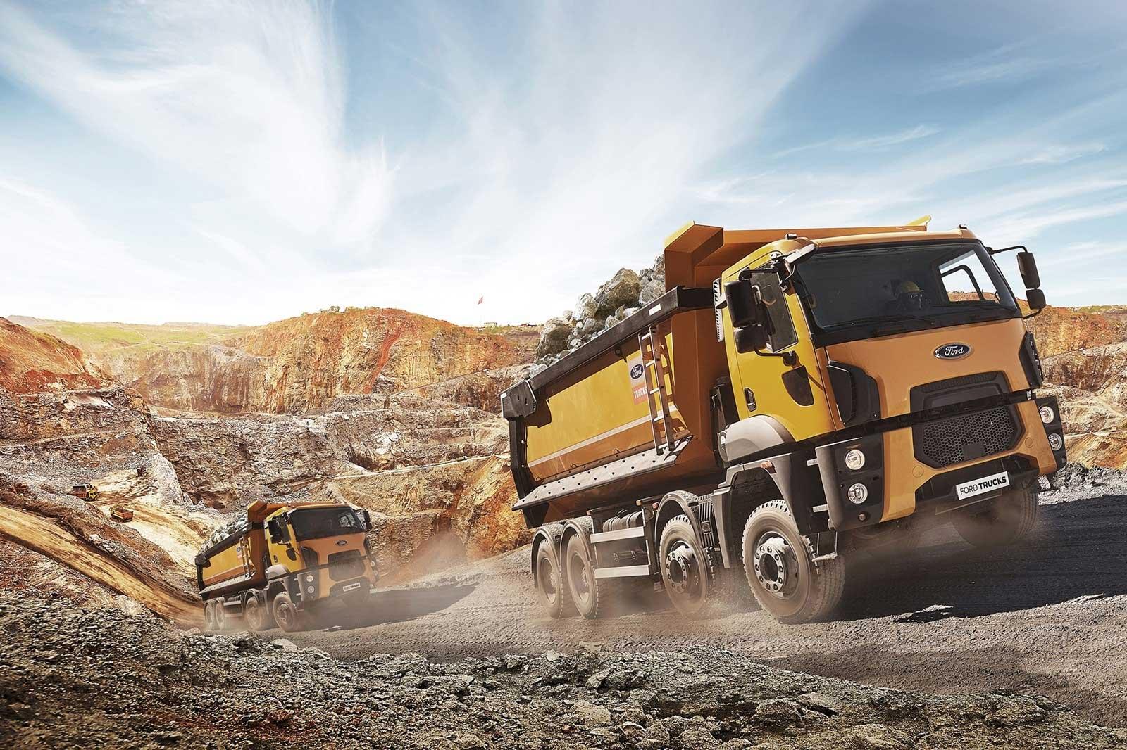 Rígido Obras Ford Trucks en Roque Nublo