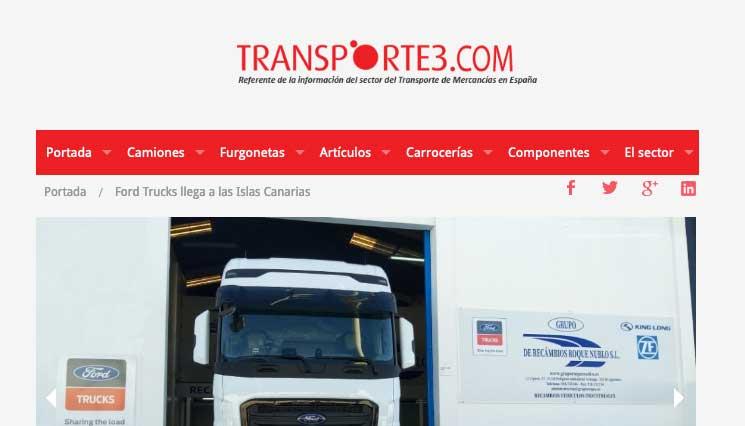 Ford Trucks llega a las Islas Canarias